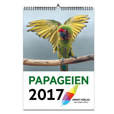 PAPAGEIEN-Kalender 2017